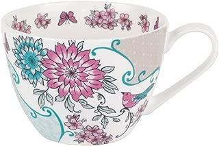 Portobello Wilmslow Kyoto Bone China Mugs Tea Cups, Set of 2