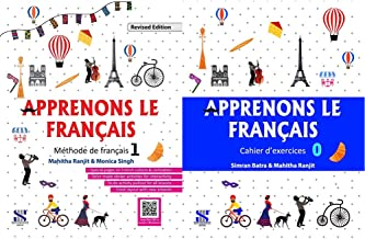 Apprenons Le Francais French Textbook 01: Educational Book + Apprenons Le Francais French Workbook 00: Educational Book (S...