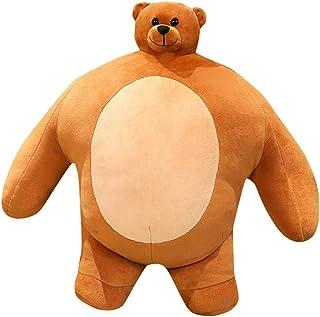 Kussen Doll, Mollig Plushie Bear Pluche Toy, Zacht Pluche Kussen Pop Beeldje, Zacht Speelgoed Meisje P
