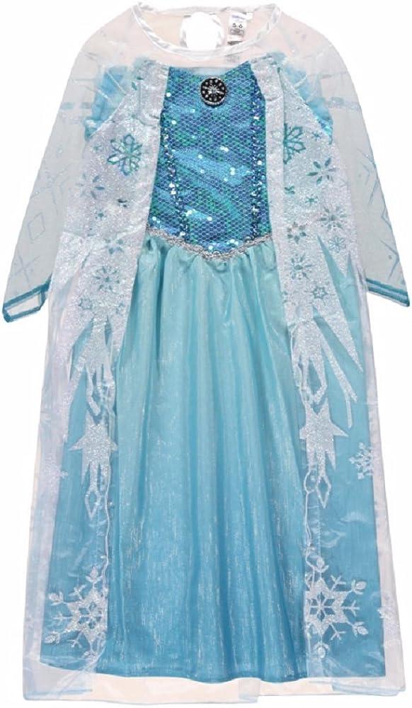 New George Disney Award-winning store Frozen excellence Elsa Ice Queen Outfit Fancy Kids Dress