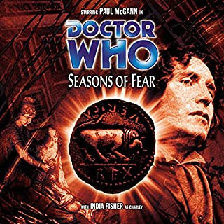 Doctor Who - Seasons of Fear audiobook cover art