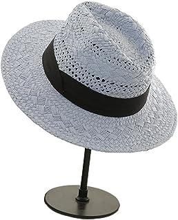 AINIYF Men's Sunshade Summer Straw Hat Outdoor Climbing Bike Sunscreen UV Protection Beach Hat (Color : Brown)