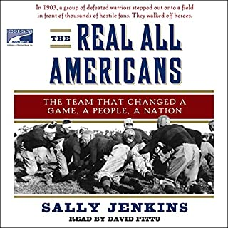 The Real All Americans audiobook cover art