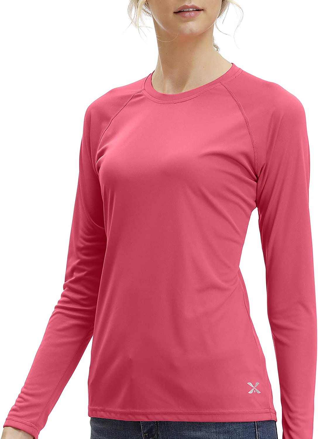 TIHEEN Women's UPF 50+ Sun Shirts Workout Long Protection Sleeve Popularity Sales results No. 1
