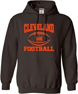 Adult and Youth City of Cleveland Ohio Football Sweatshirt Hoodie