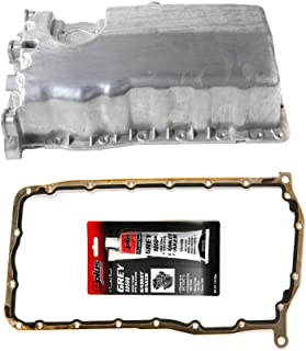 MOCA Oil Pan with Gasket Silicone for 2006-1998 Volkswagen Jetta & Volkswagen Beetle & Volkswagen Golf 2.0L 1.9L L4 SOHC AEG BGD ALH Engine Code