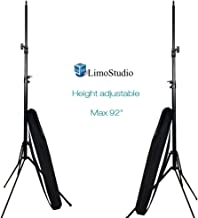 LimoStudio (2 Sets of) 92 Inch Light Stands Tripods Die-cast Metallic Material Stand with Carry Bag, AGG2343