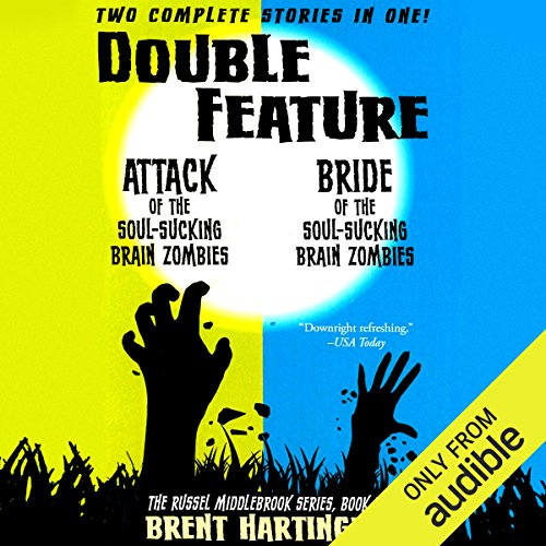 Double Feature audiobook cover art