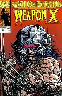 Marvel Comics Presents #79 : Wolverine as Weapon X, Sgt. Fury, Dracula, Sunspot, & Dr. Strange (Marvel Comics)