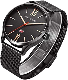 Mini Focus Casual Watch For Men Analog Stainless Steel - MF 0018 G