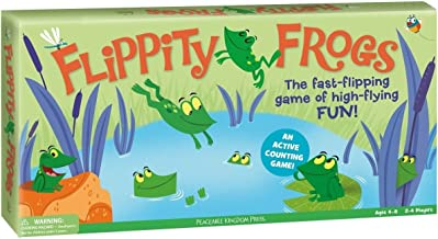Peaceable Kingdom / 'Flippity Frogs' An Active Counting Game
