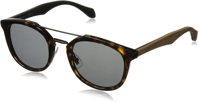 BOSS by Hugo Boss Men's B0777S Square Sunglasses