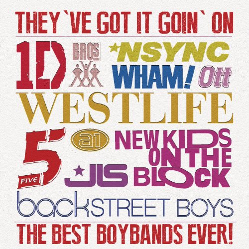 They've Got It Going On...The Best Boybands Ever!