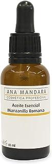 ANA MANDARA – Aceite Esencial de MANZANILLA ROMANA - 30ml – Cuentagotas | Aromaterapia | Perfume natural | Purificador | M...