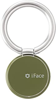 iFace スマホリング 薄型 360度回転 スキニータイプ [Reflection/カーキ]