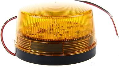 cherrypop 12 V Beveiligingsalarm Strobe Signaal Veiligheidswaarschuwing Blauw/Rood Knipperend LED Licht Oranje