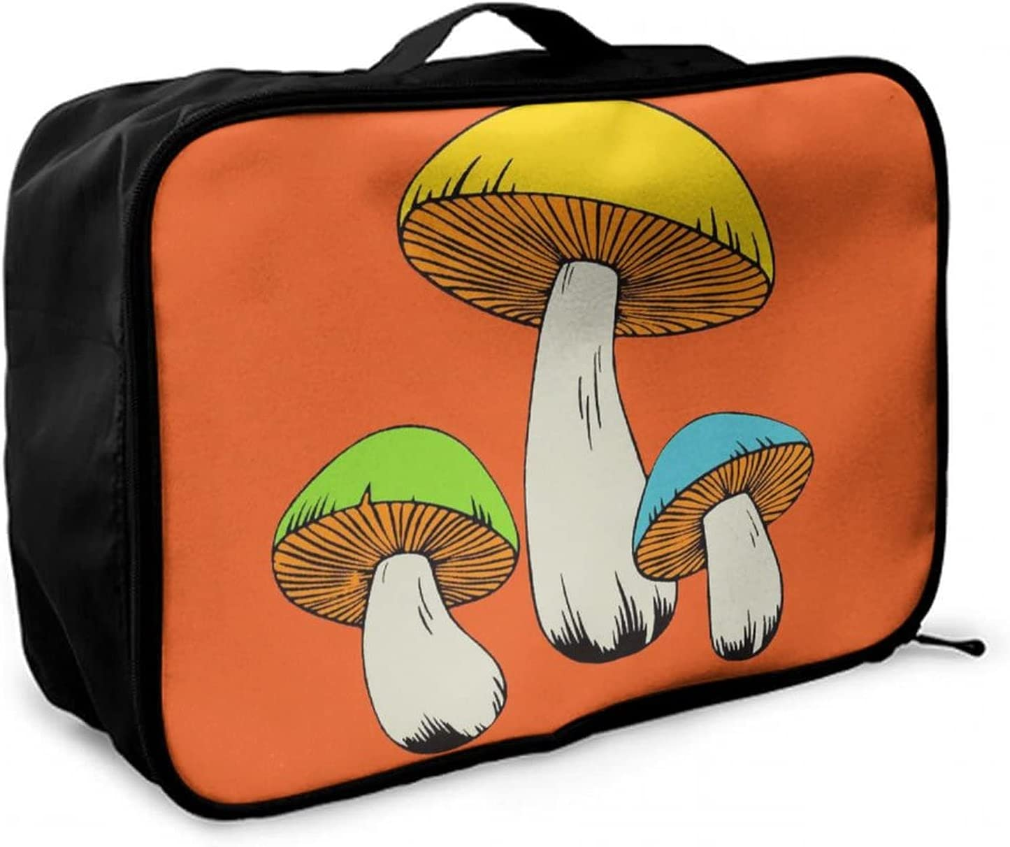NiYoung Psychedelic Magic Discount is also New products, world's highest quality popular! underway Mushrooms Travel Large Ligh Duffle Bag