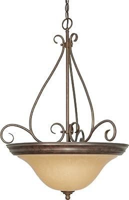 Bowl Pendant Volume Lighting V4283-43 Michele Chandelier