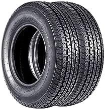 2 ST 205/75R14 Trailer Tires DOT Radial 20575R14 Tire 8PR Load Range D
