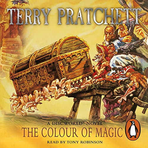 The Colour of Magic     Discworld 1              By:                                                                                                                                 Terry Pratchett                               Narrated by:                                                                                                                                 Nigel Planer                      Length: 6 hrs and 55 mins     283 ratings     Overall 4.4