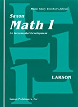 Math 1 Home Study