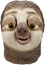 Big Mango Deluxe Novelty Halloween Costume Party Latex Animal Head Mask for Adults&Children (Sloth)