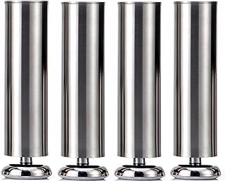 4 Qrity unidades Patas de Metal muebles armario de cocina