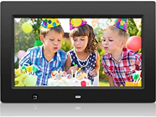 Aluratek ADMSF310F 10-Inch Digital Photo Frame with Energy Efficient Motion Sensor 4GB Built in Memory (Black)