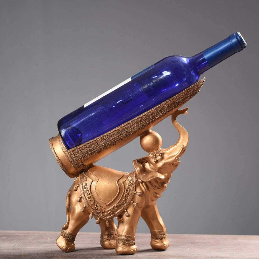 LXD Wine Racks Sale SALE% OFF Brand new Resin Elephant Shape Creative Retro Cabinet
