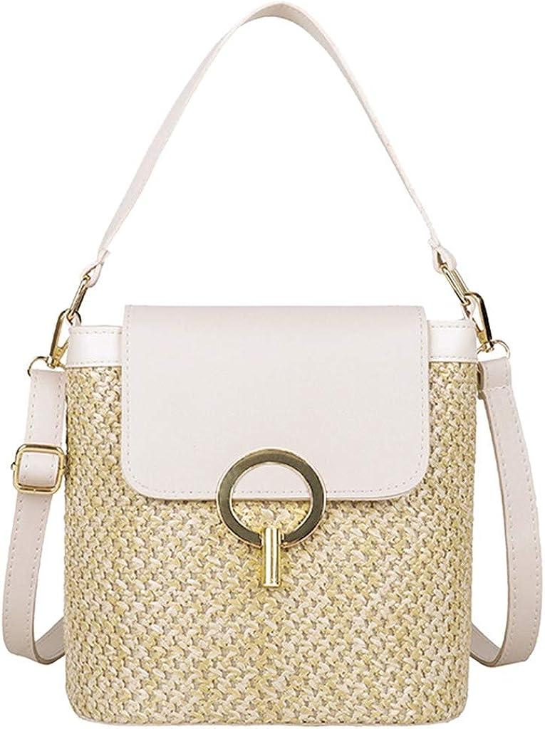 KEJINKCSEE Fashion Straw Shoulder Bags Max 63% OFF Large Capacity Women Buck Genuine