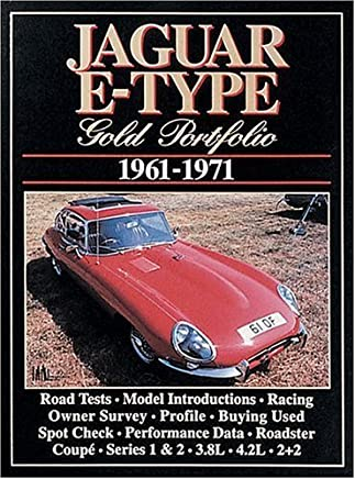 Jaguar Gold Portfolios: Jaguar E-Type 1961-71 by R.M. Clarke (1989-11-05)