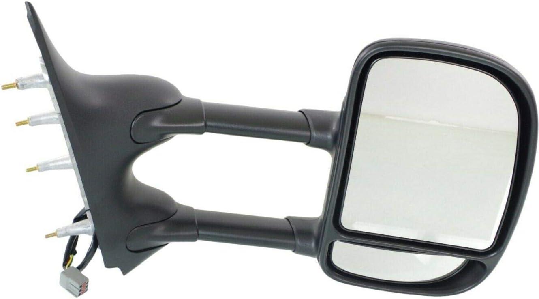 JUN Power Towing Mirror Compatible Sacramento Mall E250 E150 wholesale 2009-2016 with E350