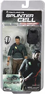 Splinter Cell Action Figure Sam Fisher With Pack & No Vest