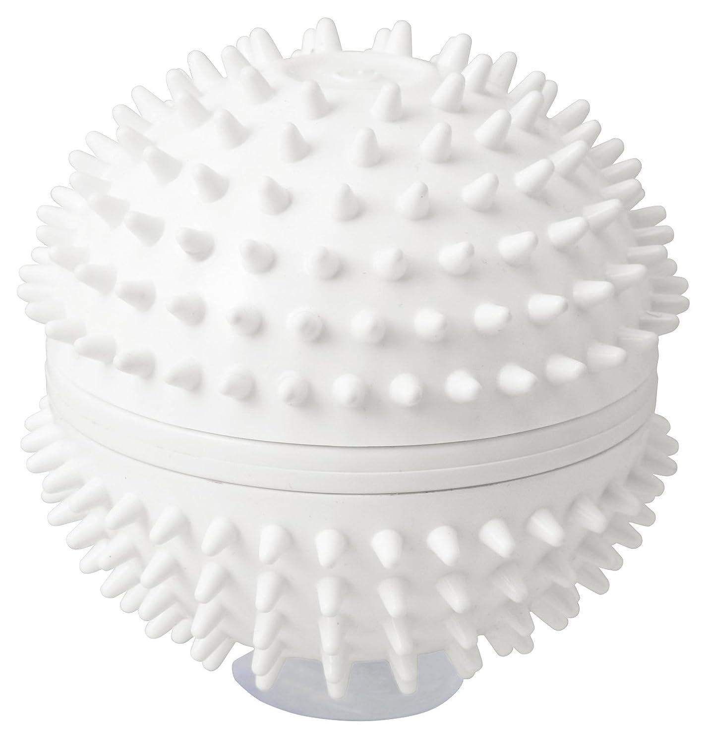利用可能請う経由でラドンナ CUTENSIL 振動リラクゼーション リラクボール CU17-RB ホワイト