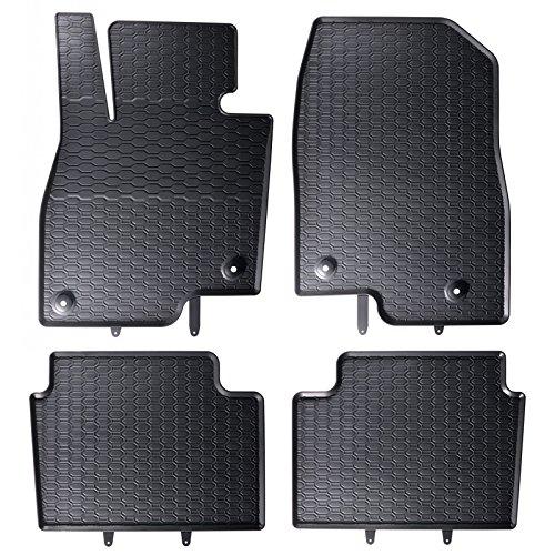 Geyer Hosaja Gummimatten passend für 3 6 Kombi Pkw Auto Matten Gummifußmatten Fahrzeugmatten