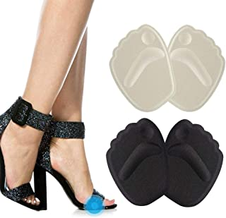 Metatarsal Pads Ball of Foot Cushions Pads, Forefoot Insert Insoles for High Heels Shoes, Pain Relief for Women and Men Se...