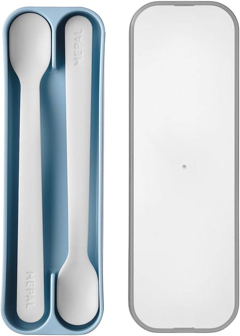 Mepal Mio - Feeding Spoon Set Max 51% OFF L Light online shop 2 Baby of Blue