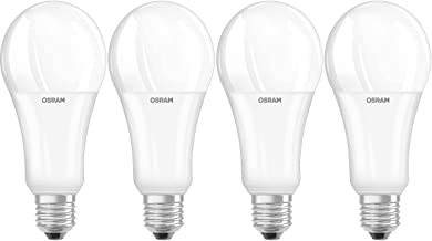 Osram LED Lamp/E27 Base/Dimmable [Calc.]/Warm White (2700 K)/Replaces 150 W Incandescent Bulbs/21.00 W/Frosted/LED Superst...