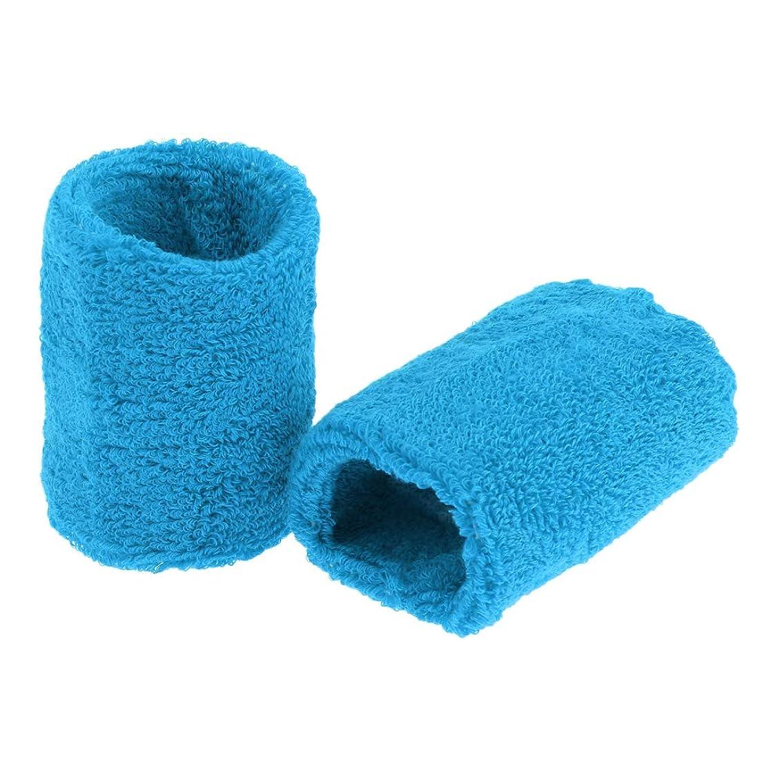 毛布変換するラップトップBaoblaze ユニセックス コットン スウェットバンド リストバンド バスケットボール バドミントン用 全15色