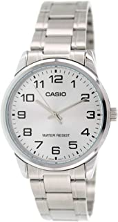 Casio #MTP-V001D-7B Men's Standard Stainless Steel Easy...