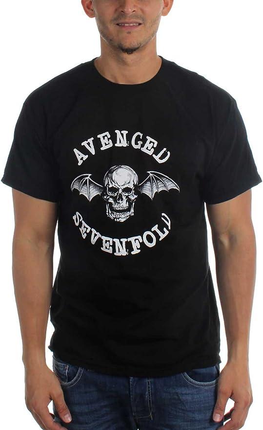 Treask Merchandising Avenged Sevenfold Classic Deathbat T-Shirt Black