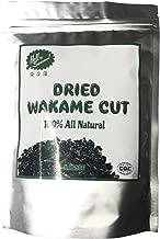 Dried Wakame Cut,Dried Seaweed,Sea vegetable,Edible seaweed,Miyeok,Sea Mustard 50g (1bag)