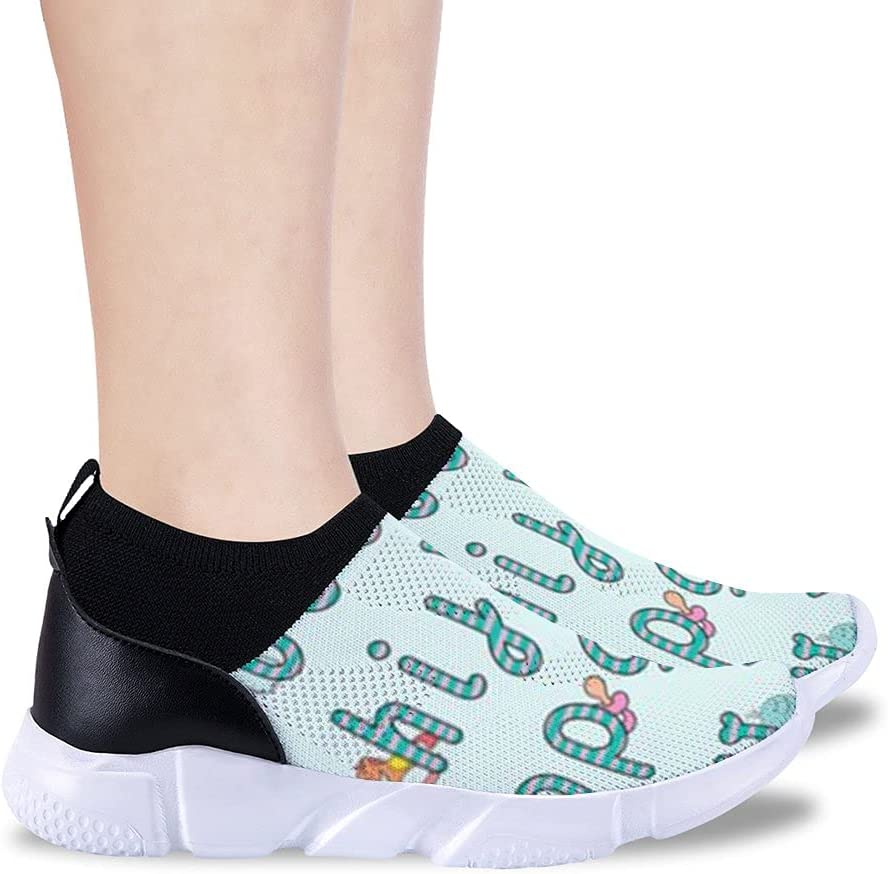 Beete Cool Personality Alphanumeric Sports Shoes Children's Light and Breathable Running Boys and Girls Sports Shoes Easy Walking Sports Casual Shoes