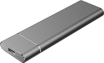 External 1TB 2TB Hard Drive Portable Hard Drive External USB 3.1 Hard Drive for Mac, Laptop,PC (1TB,Black)