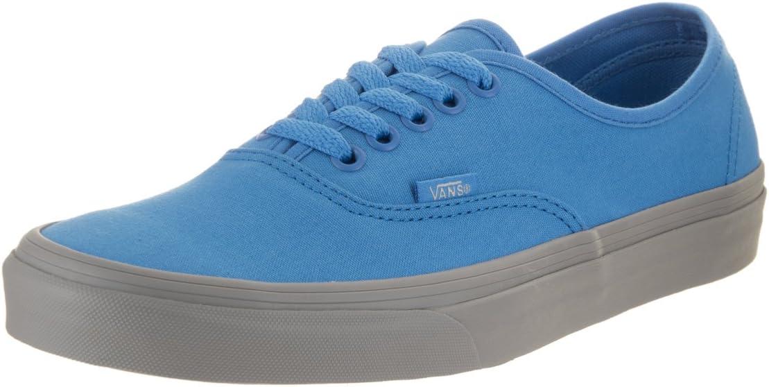 Vans Tenis Authentic (Pop) Azul/Gris Talla 26 : Amazon.com.mx ...