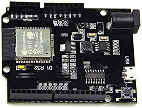 HiLetgo UNO R3 D1 R32 ESP32 ESP-32 CH340G Development Board WiFi Bluetooth 4MB Flash with Micro USB for Arduino