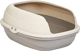 AmazonBasics Caja de arena para gatos, parte superior abierta