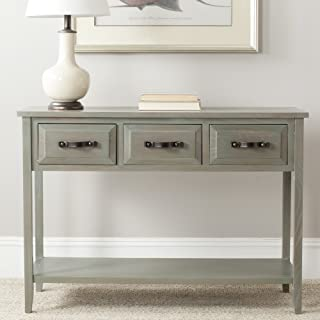 Safavieh American Homes Collection Aiden French Grey 3-Drawer Console Table