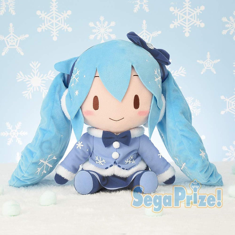 diseño único SEGA Hatsune Miku Special fluffy fluffy fluffy stuffed plush SNOW MIKU 2012 27cm japan limited  compra en línea hoy