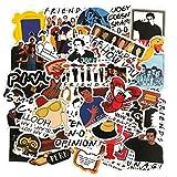 Pegatinas para portátil Friends TV Show Pegatinas Decorativas Divertidas de DIY 50Pcs / Set